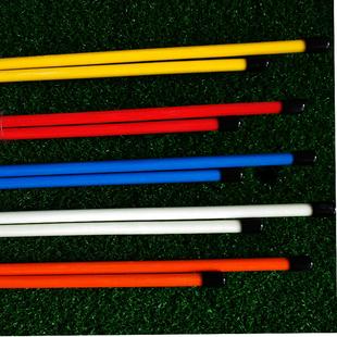 新款高尔夫多功能练习器 方向指示杆推杆器站位训练棒初学者用品