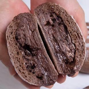 全麥歐包巧克力奶酪雜糧早餐代餐無糖無油飽腹健身零食麪包