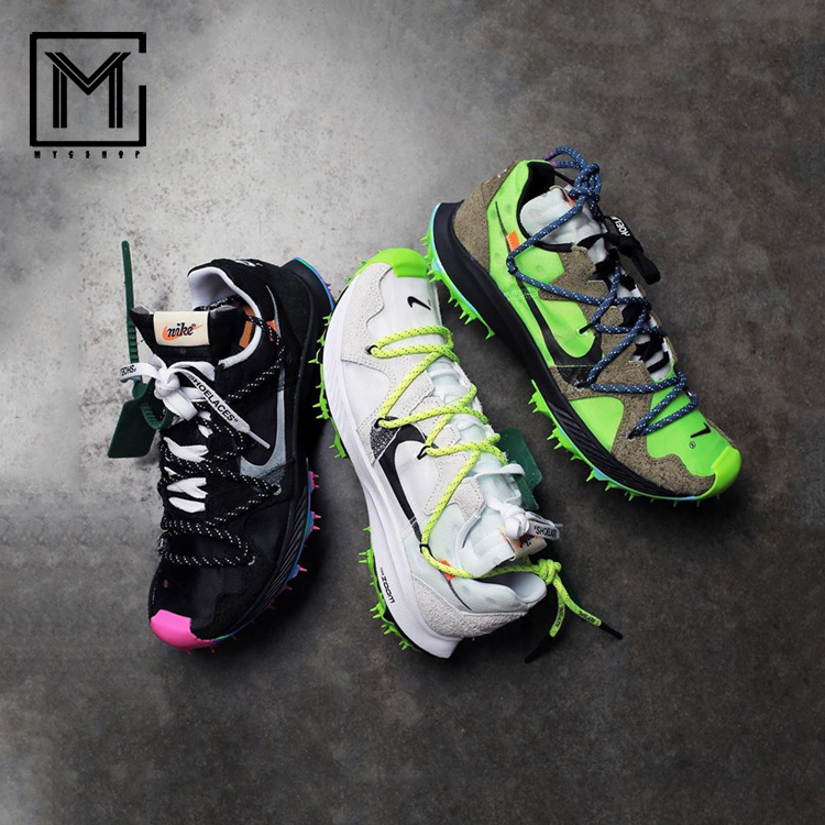 OFF-WHITE X NIKE Zoom terra kiger 5 OW聯名釘刺CD8179-001-100