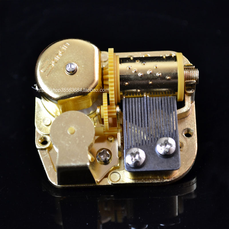 Special price DIY wind up music box accessories standard 18 tone eight sound box movement maintenance accessories