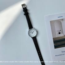 冲钻女式方形镀金复古手链经典手表女小巧气质链条表石英国产腕表