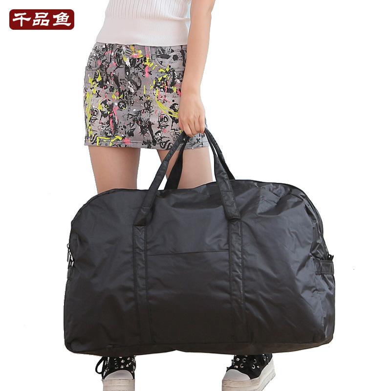 Medium and short distance travel bag portable large bag large capacity waterproof nylon bag single shoulder travel bag for men and women luggage bag