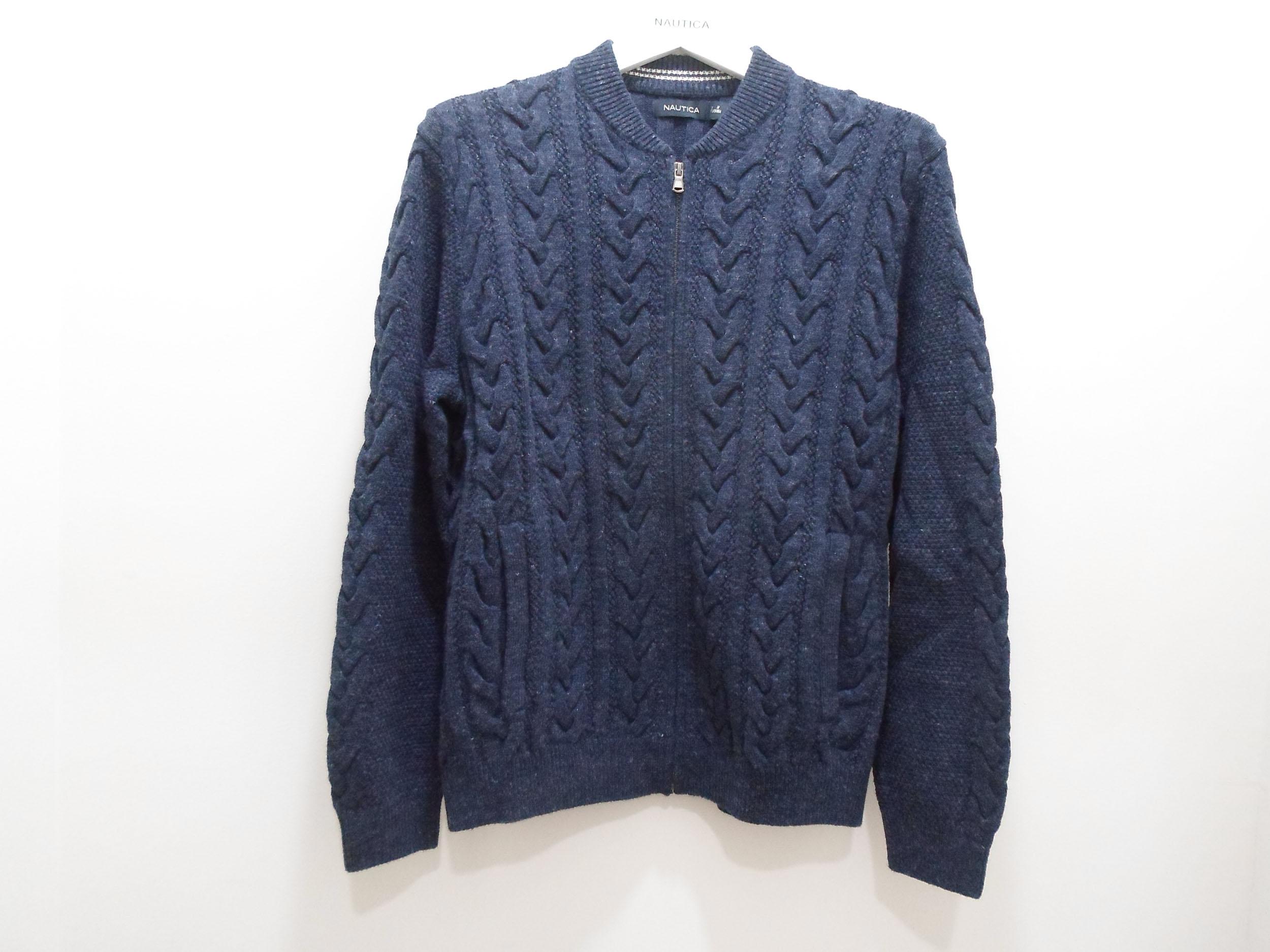 Nautica nodica na0024654cn mens casual T-shirt sweater cardigan jacket