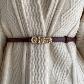 韩国新款腰带头像腰封显瘦收腰西装外套大衣连衣裙毛衣皮带女士