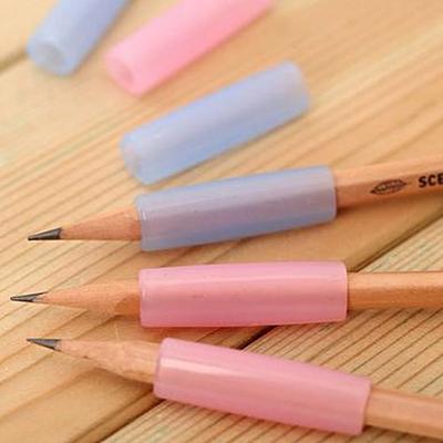 得力0492握笔保护套 握笔器 学生矫正握姿笔套 铅笔保护套 3个装