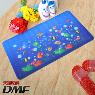 DMF cartoon cute children s bath mat mat mats PVC plastic suction cup non slip mats in shower