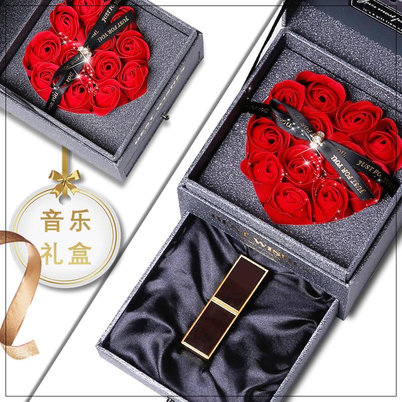 19情人节TF汤姆福特口红套装80 16 9生日 新年礼物 黑管 音乐礼盒