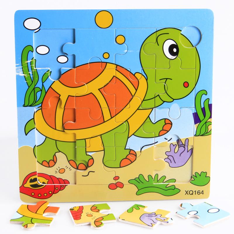 Деревянные детские 16 головоломки деревянные головоломки-4 дошкольного образования образовательных игрушки детей 2-3 лет 1set fixed side fk12 floated side ff12 ball screw end supports