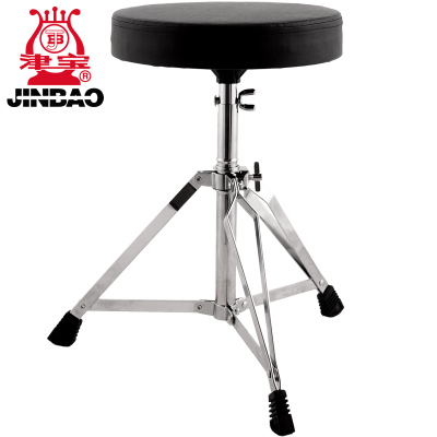 Jinbao drum drum stool can be raised and lowered, thickened and bolded, heavy-duty, heightened jazz drum stool
