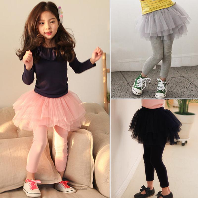 新款2021韩版女童裙裤春秋打底裤