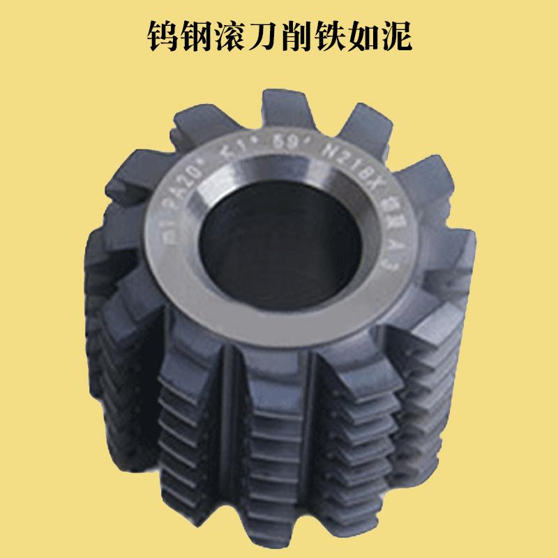 硬质合金小模数齿轮滚刀整体钨钢刀具超硬耐磨滚齿刀外径25内孔8