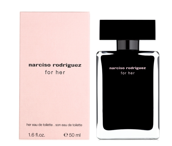 代购 NARCISO RODRIGUEZ  For Her EDT 50ml 同名女士淡香水
