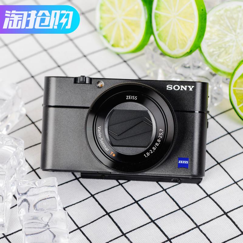 国行Sony/索尼 DSC-RX100M5 M4 M3 RX100V黑卡5代 数码相机高清