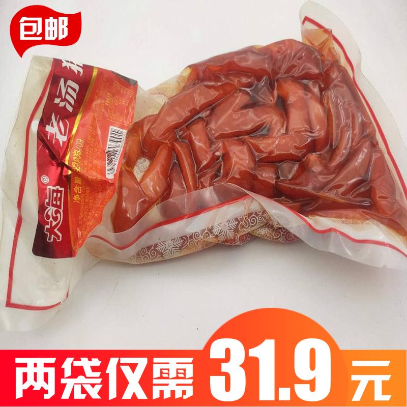 大海老汤猪皮 天津特产零食小吃350g*2袋等多规格可选多省包邮
