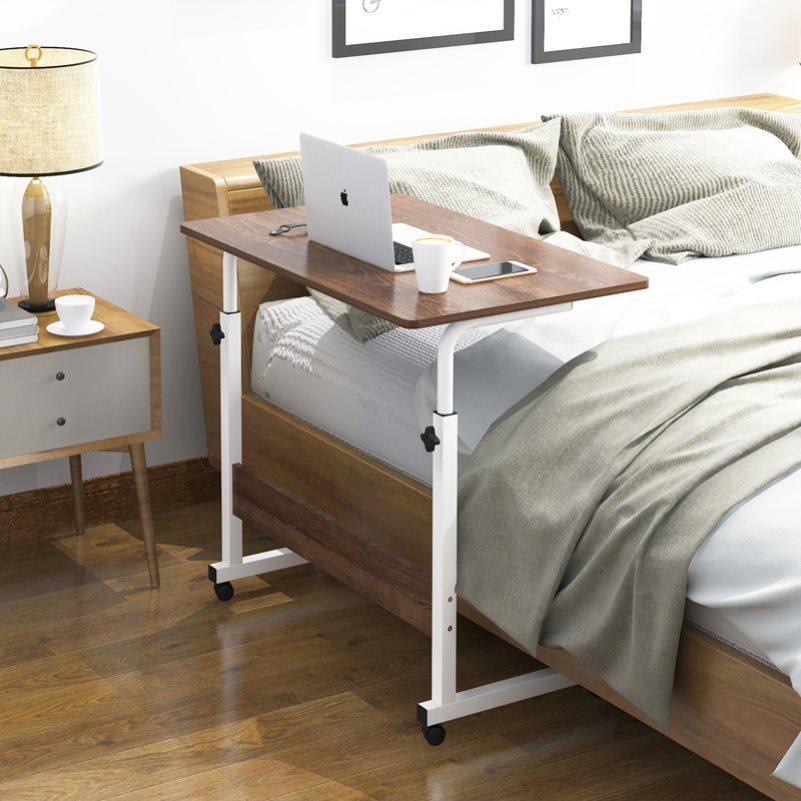 老人病人残疾人床上餐桌床边升降护理活动工作电脑桌子可移动吃饭