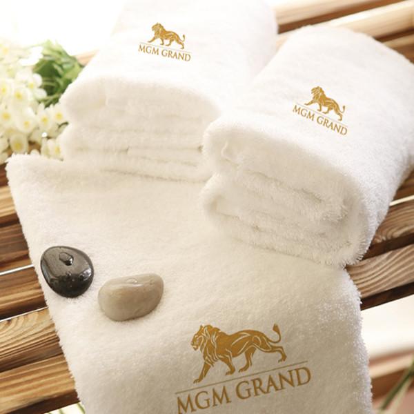 Пакет электронной почты-отель хлопка супер толстые супер полотенце 1 кг Золотой Лев Показать модель виллы предпочитали