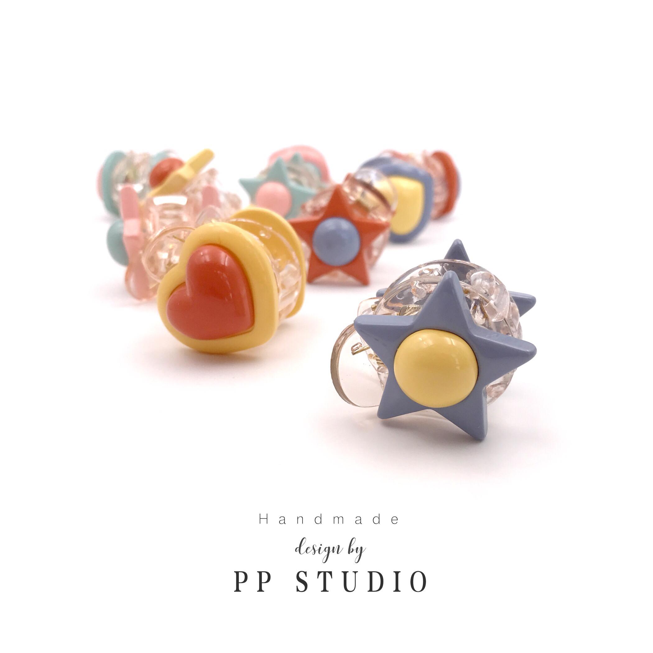 10月18日最新优惠▲pp studio▲泫雅撞色小清新刘海夹