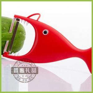 广告削皮刀/削皮器/水果削皮器/创意礼品/鲨鱼削皮器/可印LOGO