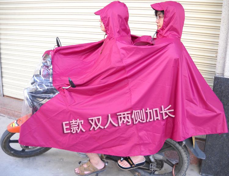 包邮 牛津布 单双人雨衣 摩托车雨衣 电动车雨衣 加大加厚雨披