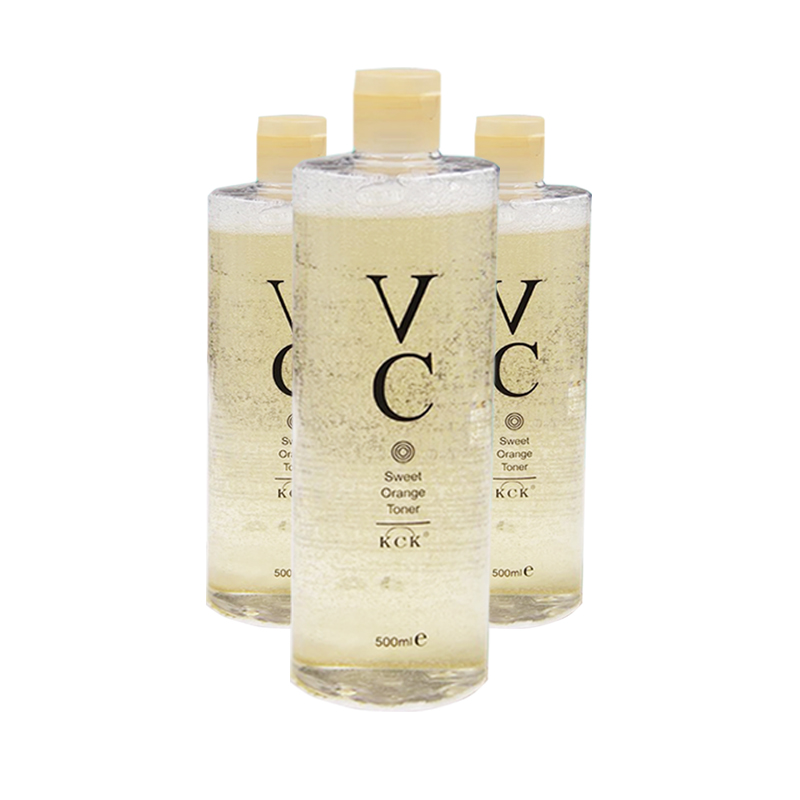 30泰国KCK甜橙vc水喷雾美丽补水亮白爽肤水收缩毛孔500ml大容量
