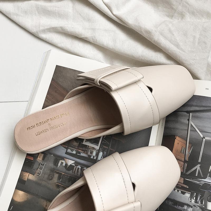 李大仁 包头半拖女鞋2020夏季新款时尚韩版网红仙女风凉拖鞋外穿