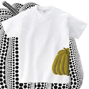 日本艺术家草间弥生波点南瓜短袖T恤【该款不退不换请看好尺码】