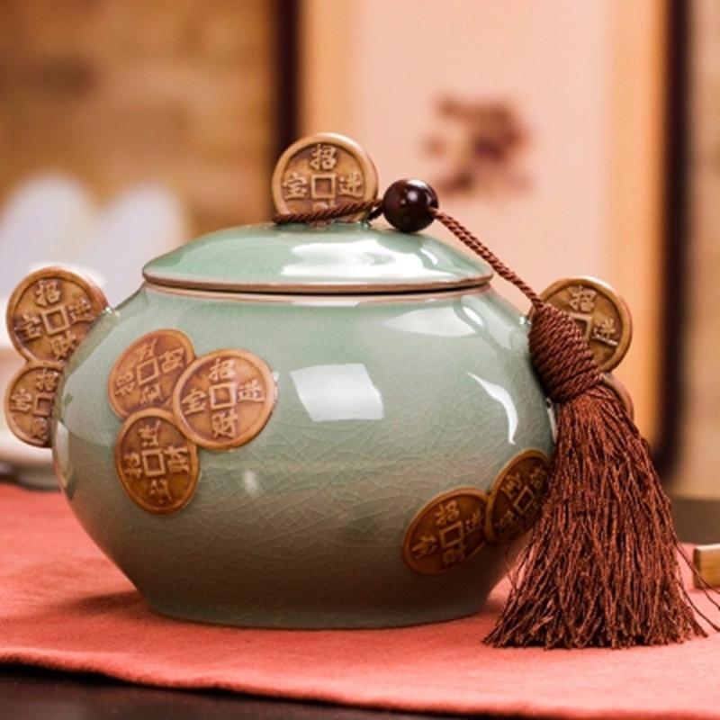 正宗武夷山桐木關手工碳焙果香正山小種紅茶節日送禮陶瓷罐裝