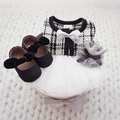 婴儿衣服礼盒新生儿公主裙套装送礼高档初生女宝宝满月服周岁百天