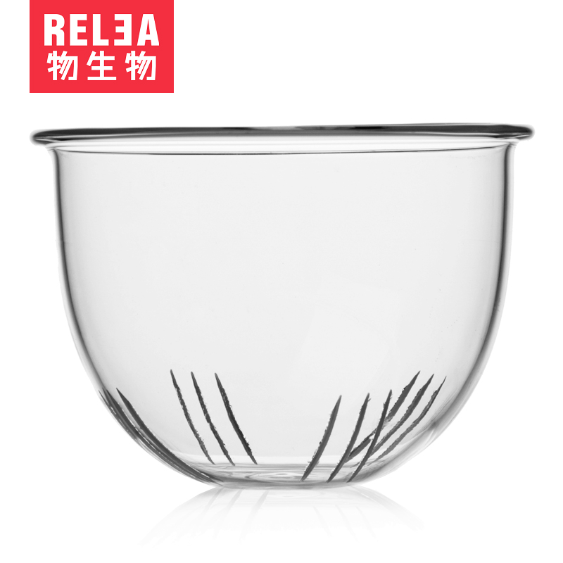 RELEA/物生物 耐熱玻璃杯 三件杯配件 濾膽 優雅杯濾膽