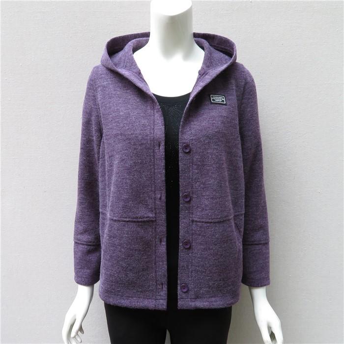 中老年女装春装外套中年女妈妈装春秋针织衫开衫短款老年秋装外套