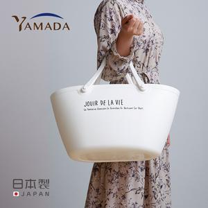 领5元券购买yamada日本进口购物篮单肩水桶包