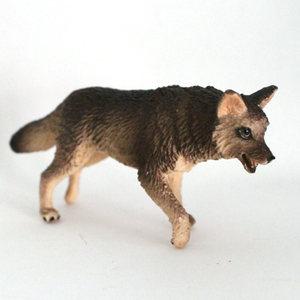 美国正品safari 场景模型玩具 仿真野生动物摆件 狼