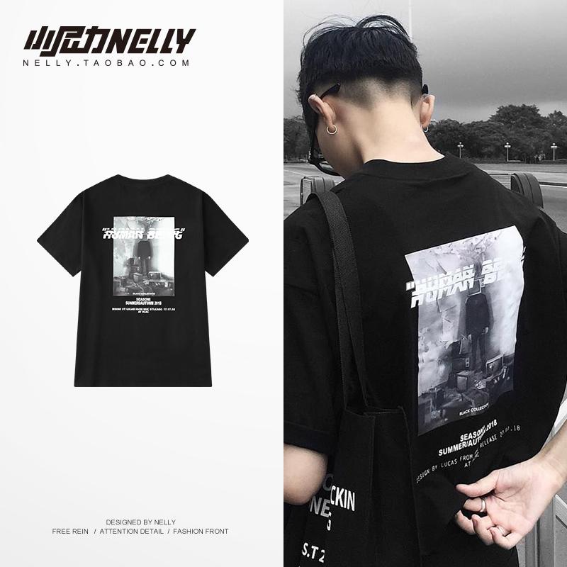 热销1093件不包邮潮牌2019夏季新款原创日系短袖t恤