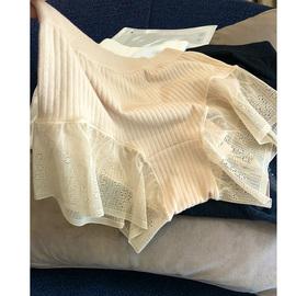 烟火家 无缝一体成型设计舒适不勒罗纹款防走光裤 女款内裤102118