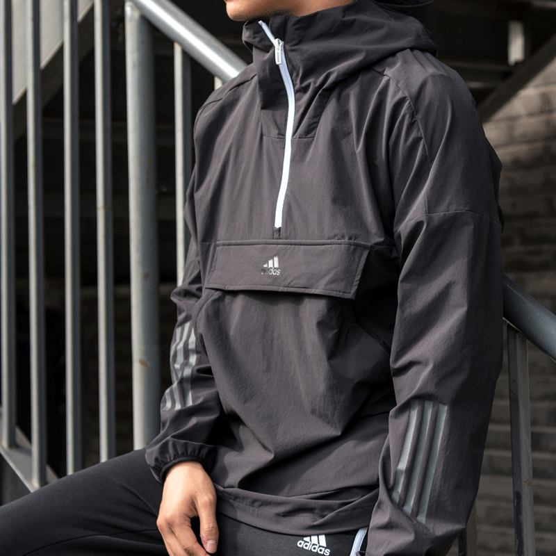 Adidas bodysuit men's new 2020 summer sports top hooded Pullover coat eh3764