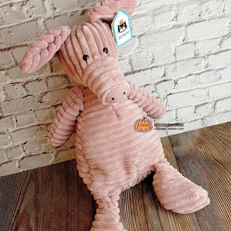 英国Jellycat Cordy Roy灯芯绒小猪娃娃超柔软毛绒玩具公仔