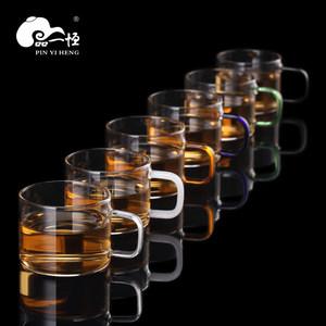 品一恒玻璃耐热功夫茶具套装小品杯