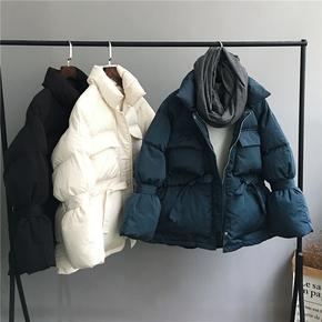 2020冬季新款韩版宽松短款羽绒棉棉服女加厚棉衣学生面包服外套