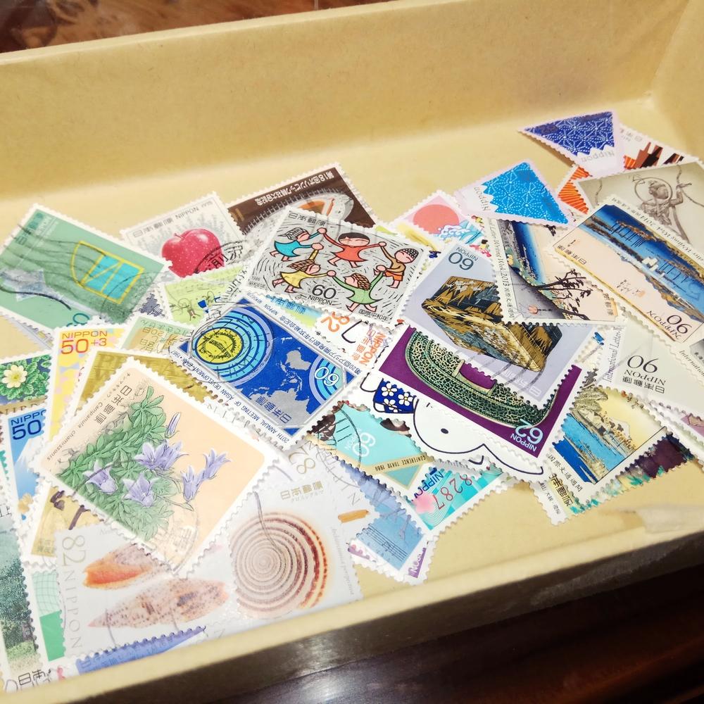Японская мемориальная печать( уже использование)20-400 различных пакет Non-хун & Бедный билет