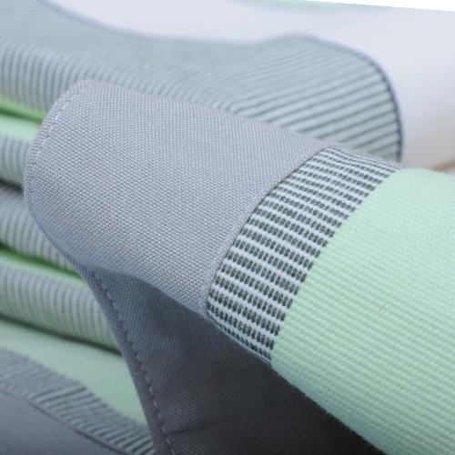 纯棉老粗布凉席夏季全棉帆布空调席三件套加厚棉麻亚麻凉席子床单