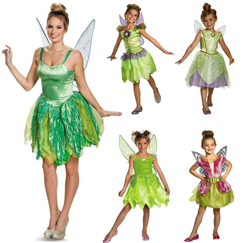 圣诞万圣儿童节精灵公主小叮当海盗仙子梦幻舞会派对裙子服装奥汐