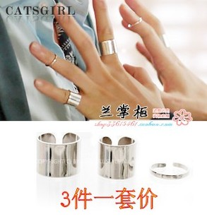 South Korean imports of purchasing Korean Master s Sun Kong Hyo Jin combination with three piece female ring opening paragraph