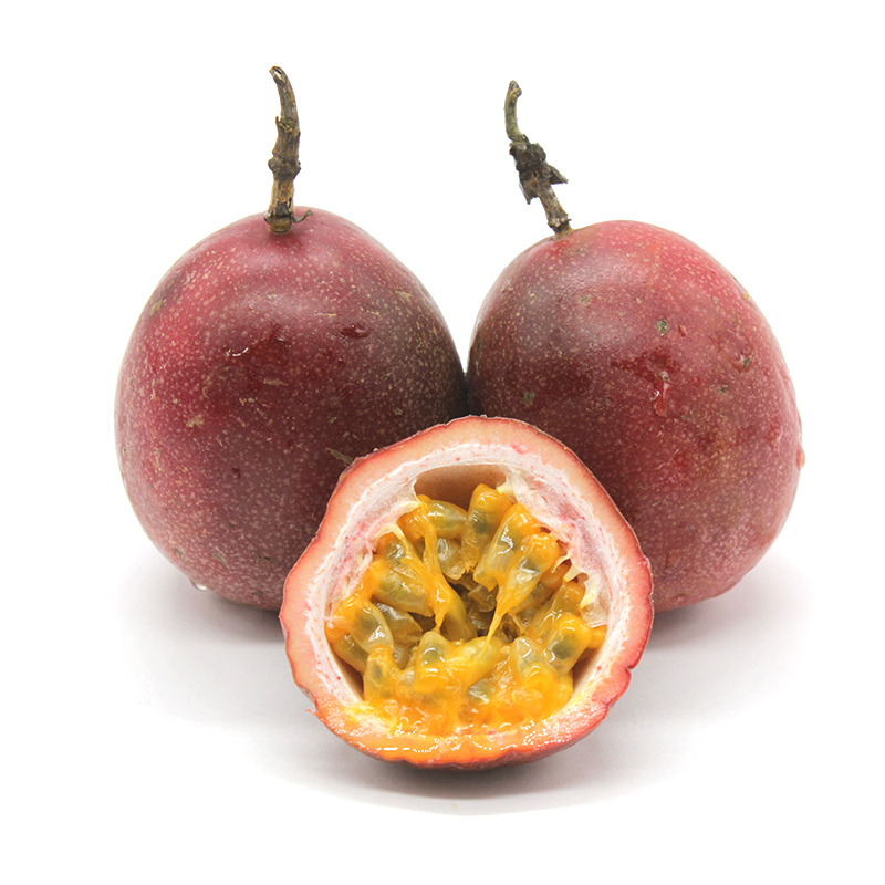 拾蘑菇 现采现发云南百香 西番莲水果新鲜热带 装大红果 3斤包邮