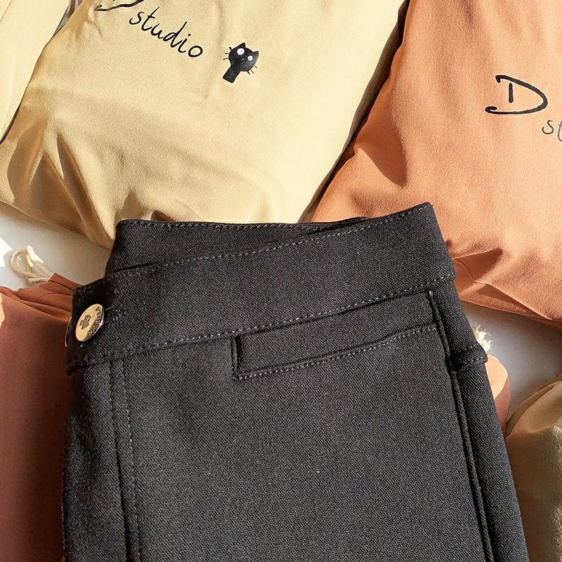 韩国小猫魔术裤7.0热绒版秋冬款加绒加厚6.0外穿打底裤铅笔小黑裤