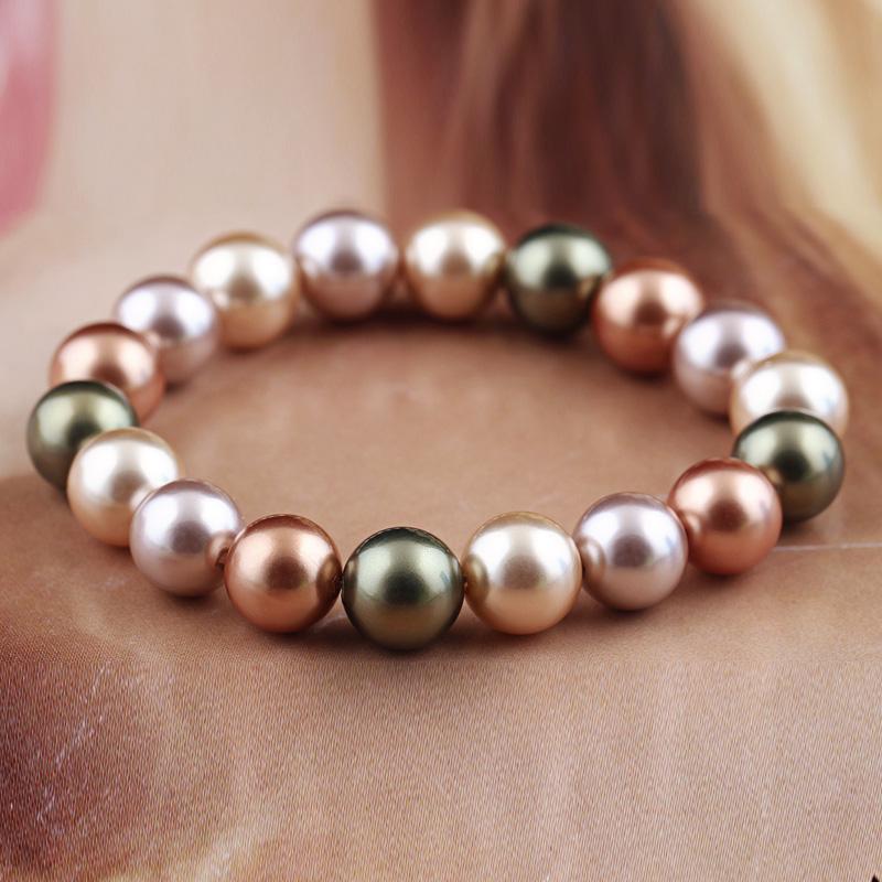 IV высокий женский Корейский моды Перл браслет как Бодхи Корея многослойные шарик браслеты ювелирные изделия