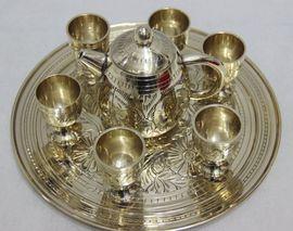 铜茶具 巴基斯坦铜器 铜壶 铜茶壶 茶具