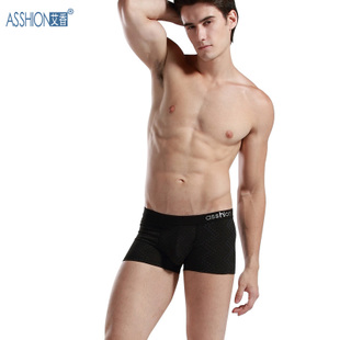 Asshion Aixiang underwear male inner pants waist antimicrobial underpants boxer shorts for men
