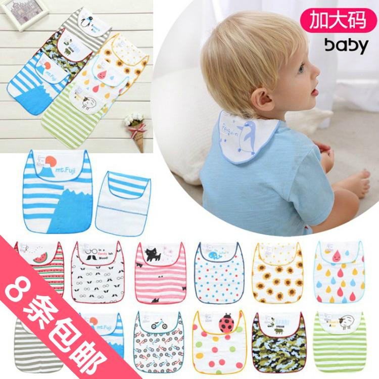 Новый большой двор 6 слой хлопчатобумажная пряжа ткань ребенок двойной модель пот полотенце ребенок мягкий подушка строп пот полотенце