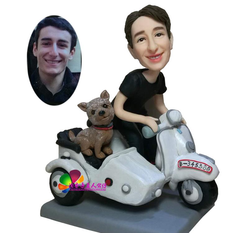 Полимерная глина кукла сделанный на заказ реальность кукла грязь маленькие люди воск так грязь модель diy фото стандарт керамика портрет модельывать так характер