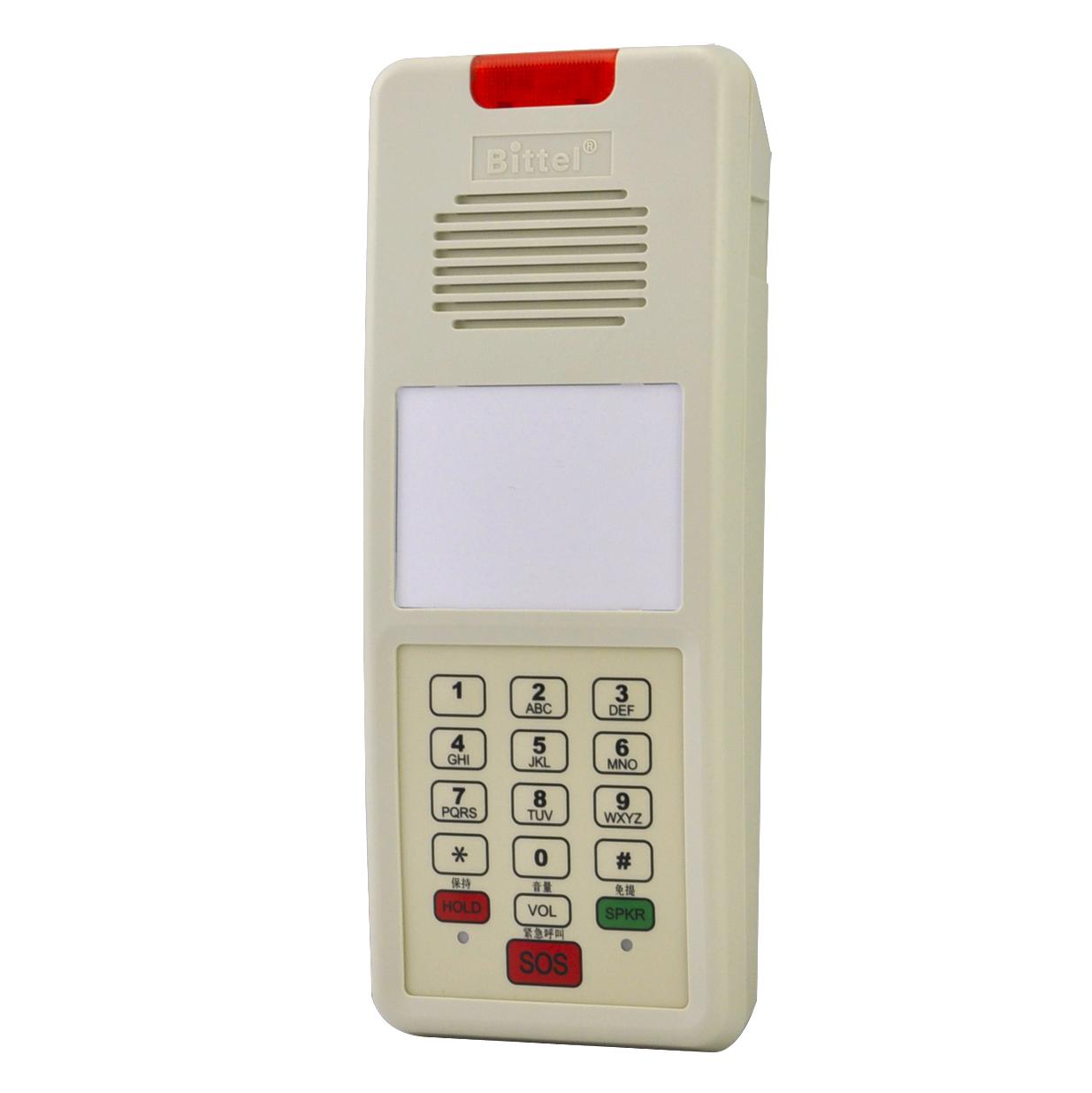 比特酒店宾馆壁挂电话机电梯专用壁挂式挂墙电话一键紧急呼叫